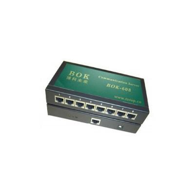 八口RS232/485串口服务器