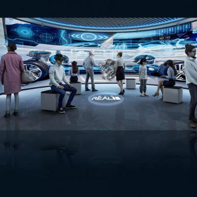 智能3D立体交互系统