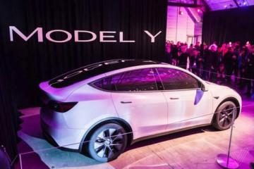 特斯拉宣布,国产中型 SUV Model Y 正式上市