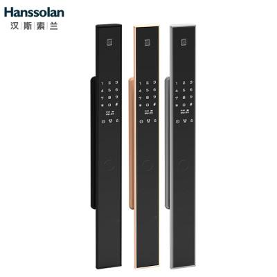 Hanssolan汉斯索兰全自动指纹锁智能门锁排行榜