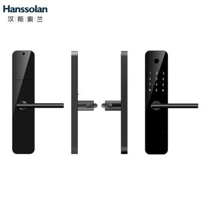 Hanssolan汉斯索兰房门锁(墨玉黑)智能门锁配件指纹密码锁